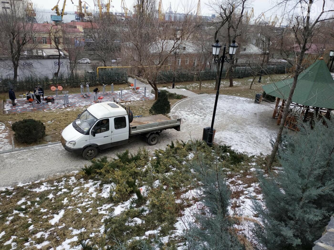 """Одесские охотники за металлом атакуют """"Стамбульский парк"""", - ФОТО, ВИДЕО, фото-20"""