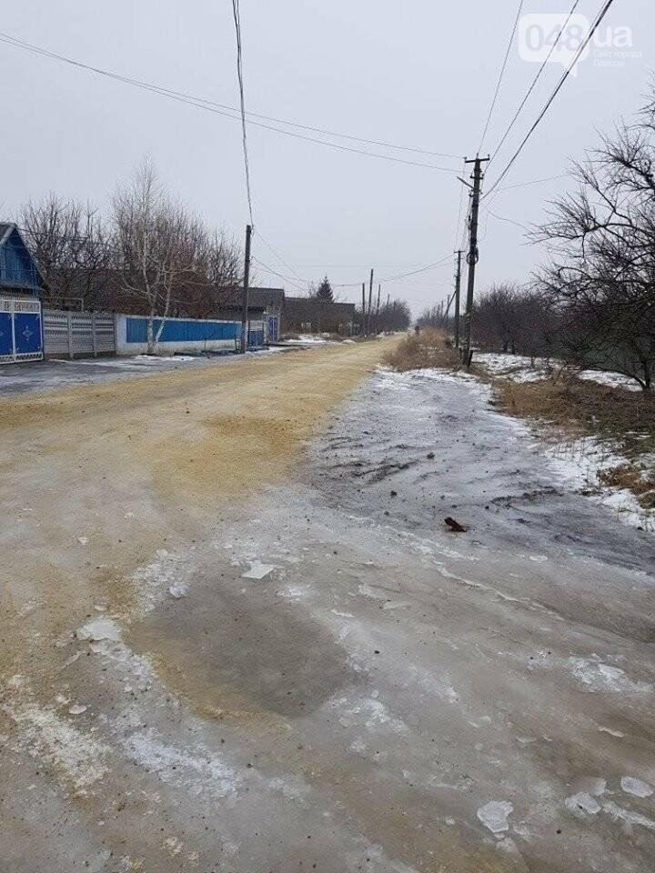 В Одесской области - ноу-хау в борьбе с гололедицей, - ВИДЕО, фото-4