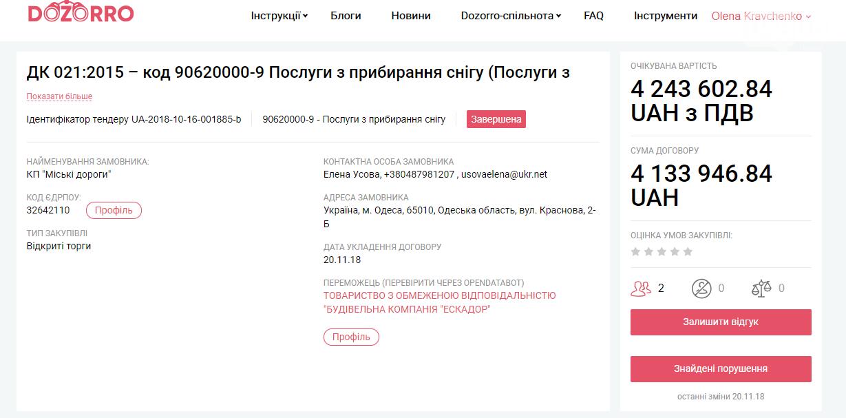 Почему российский олигарх не убрал снег на одесских улицах, - ФОТО , фото-1