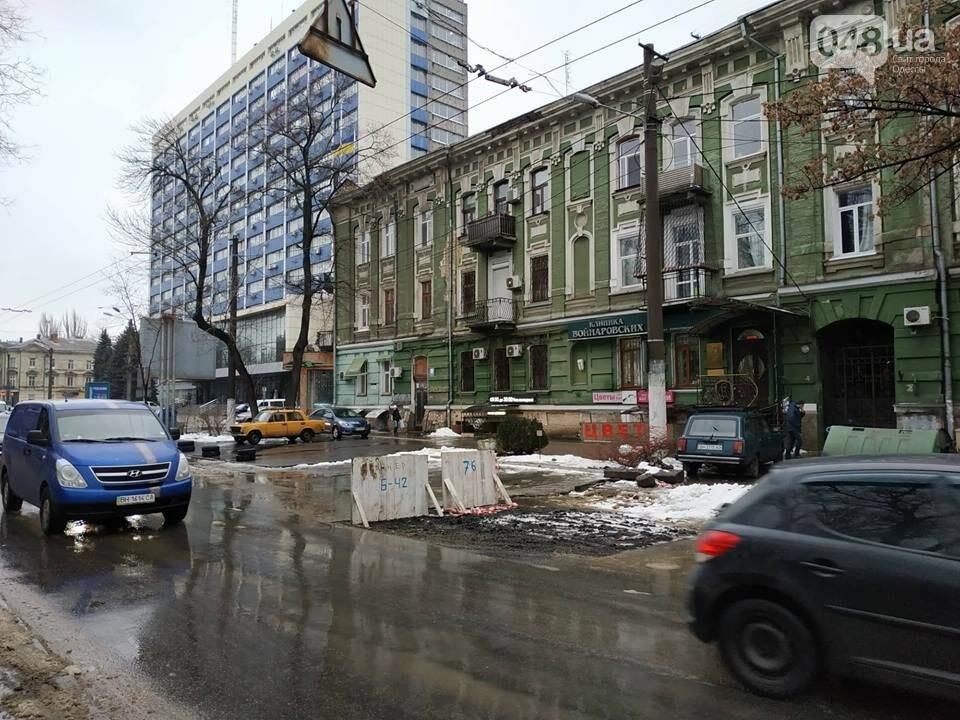 После шума в СМИ, самую упрямую яму в Одессе зарыли, но асфальта еще нет, - ФОТО, фото-3