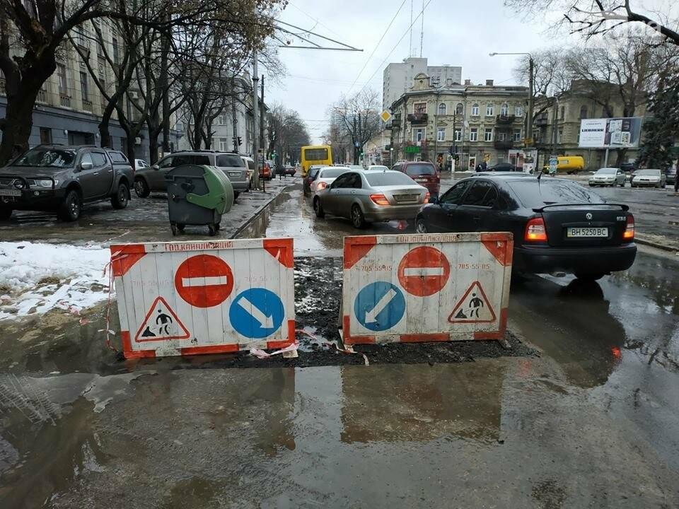 После шума в СМИ, самую упрямую яму в Одессе зарыли, но асфальта еще нет, - ФОТО, фото-2