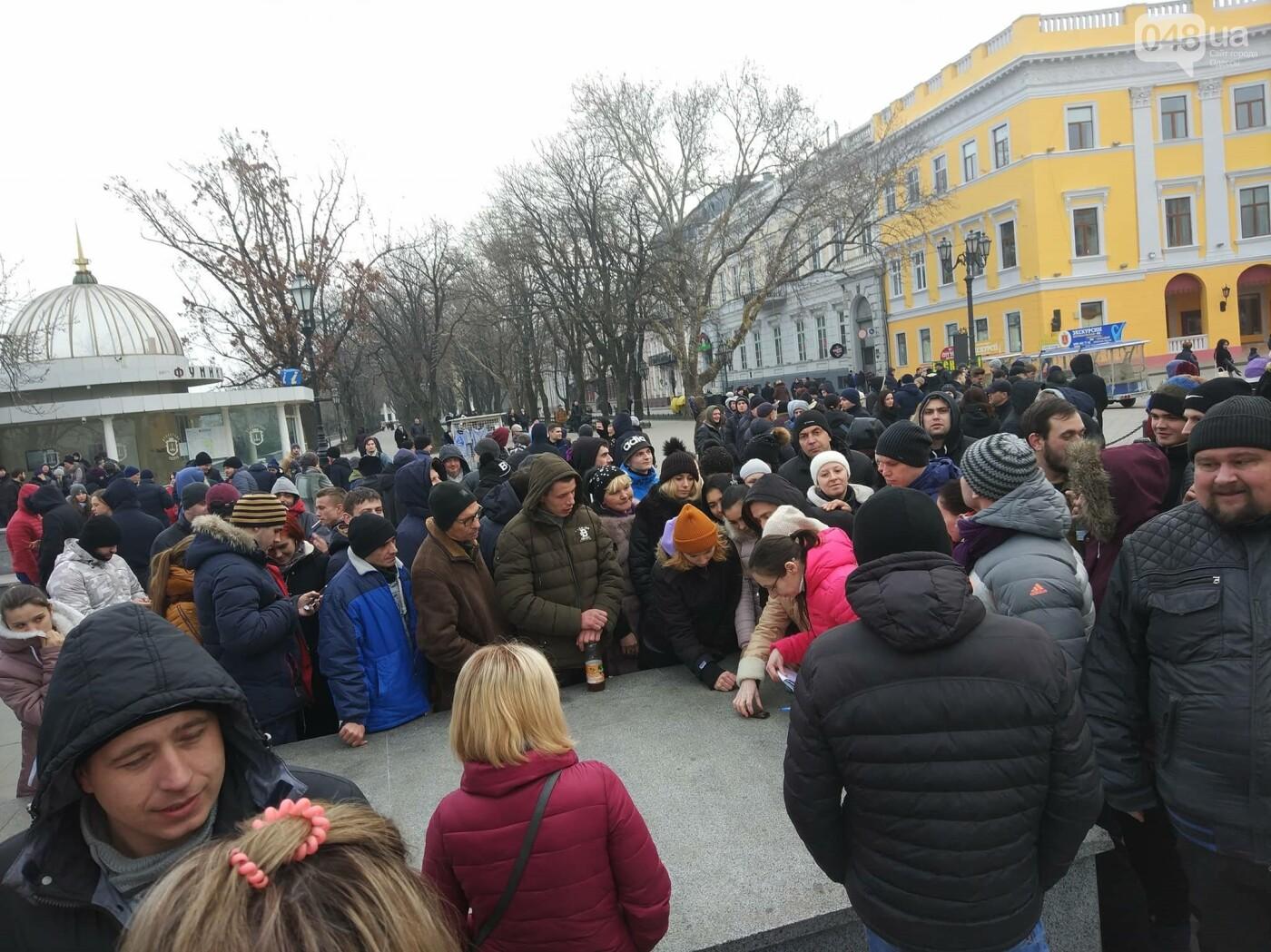 Выборы президента - в Одессе собрали митинг за несуществующего кандидата - фото 6