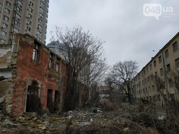 Одесская Пищевая Академия уничтожает свою территорию для застройки
