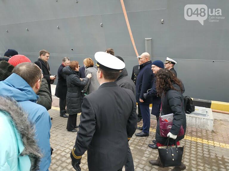Курт Волкер в Одессе