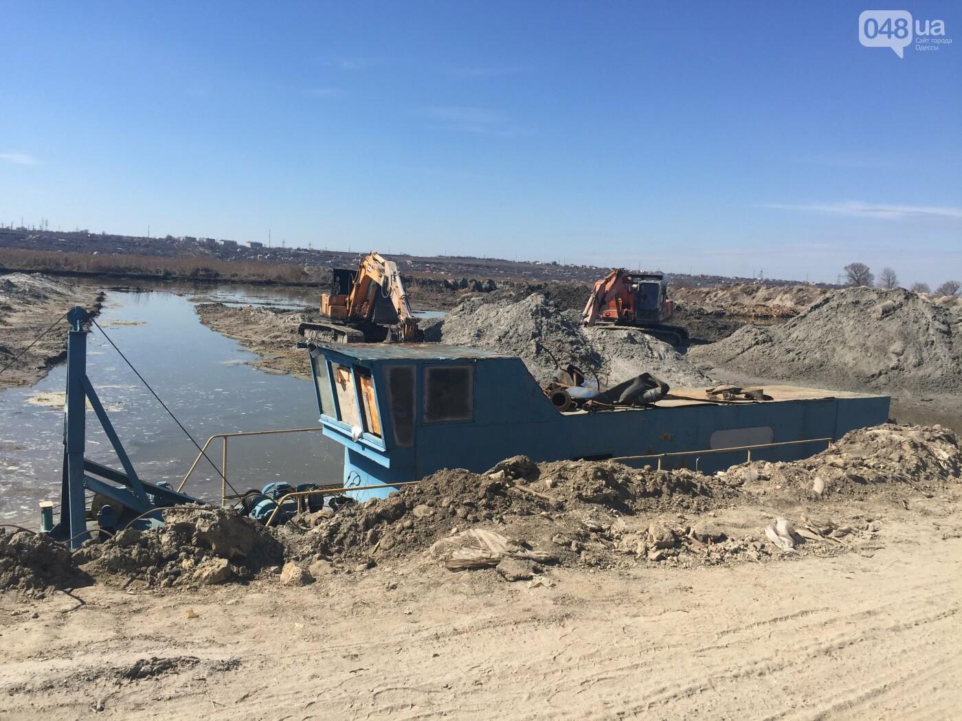 """Строительство """"из фекалий"""", незаконная свалка, угроза прорыва дамбы в Одессе,- ФОТО, ВИДЕО, фото-65"""