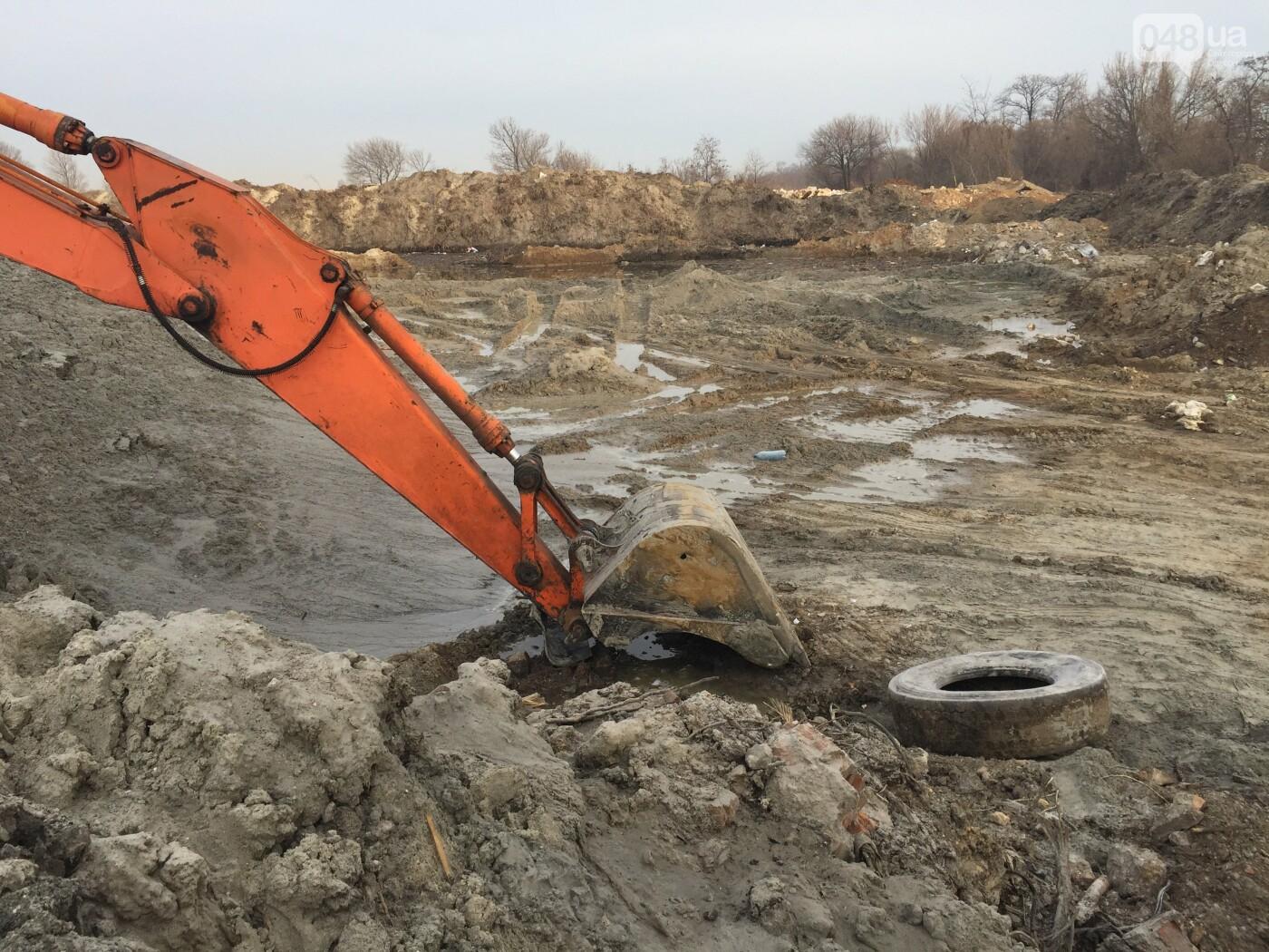 """Строительство """"из фекалий"""", незаконная свалка, угроза прорыва дамбы в Одессе,- ФОТО, ВИДЕО, фото-53"""