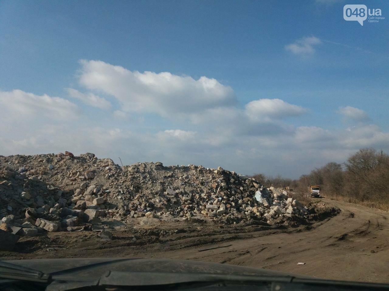 """Строительство """"из фекалий"""", незаконная свалка, угроза прорыва дамбы в Одессе,- ФОТО, ВИДЕО, фото-13"""