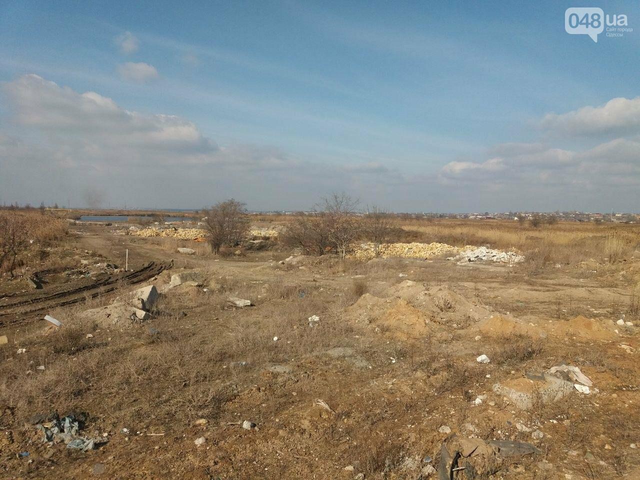 """Строительство """"из фекалий"""", незаконная свалка, угроза прорыва дамбы в Одессе,- ФОТО, ВИДЕО, фото-24"""