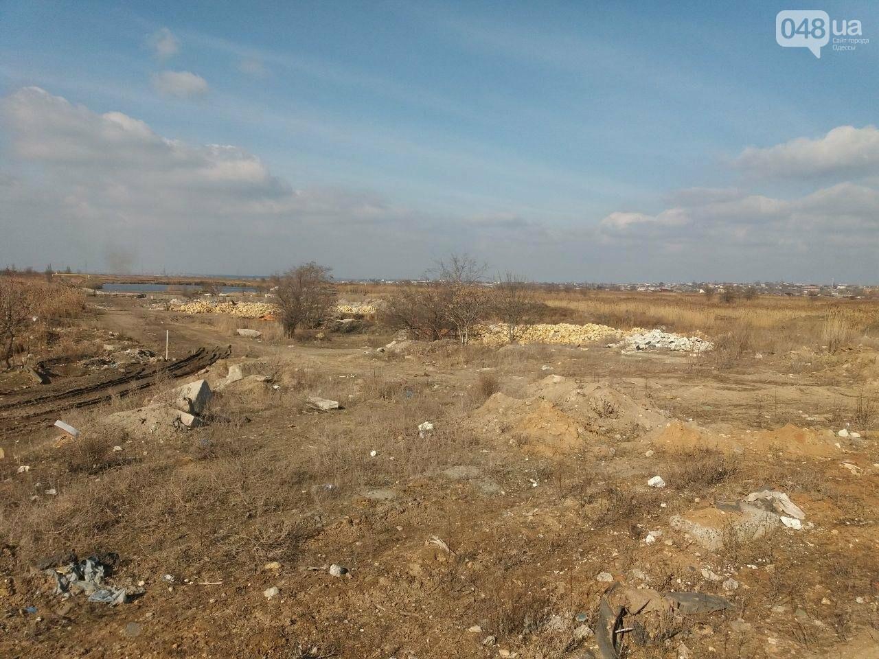 """Строительство """"из фекалий"""", незаконная свалка, угроза прорыва дамбы в Одессе,- ФОТО, ВИДЕО, фото-26"""