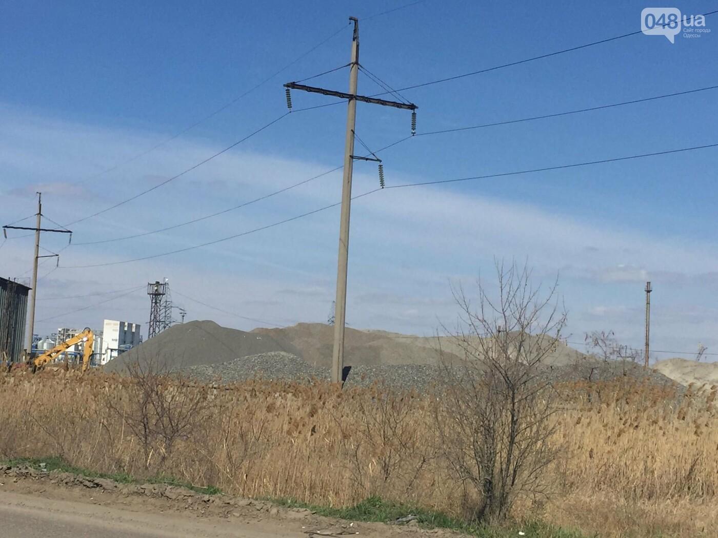 """Строительство """"из фекалий"""", незаконная свалка, угроза прорыва дамбы в Одессе,- ФОТО, ВИДЕО, фото-84"""