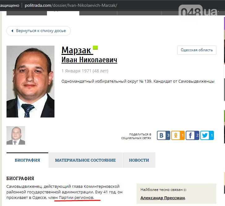Одиозный экс-чиновник решил защитить одесского мэра от расследования 048, фото-1
