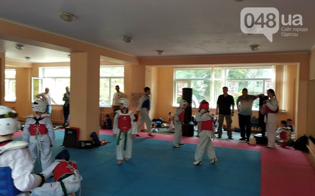 Специализированный зал олимпийского тхэквондо на поселке Таирова