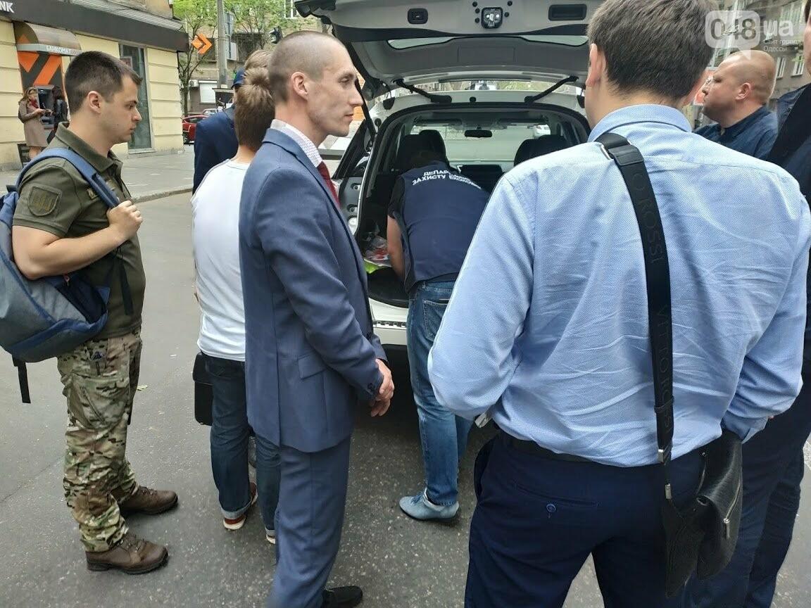 Задержание по подозрению на взятке Олега Цыбохина
