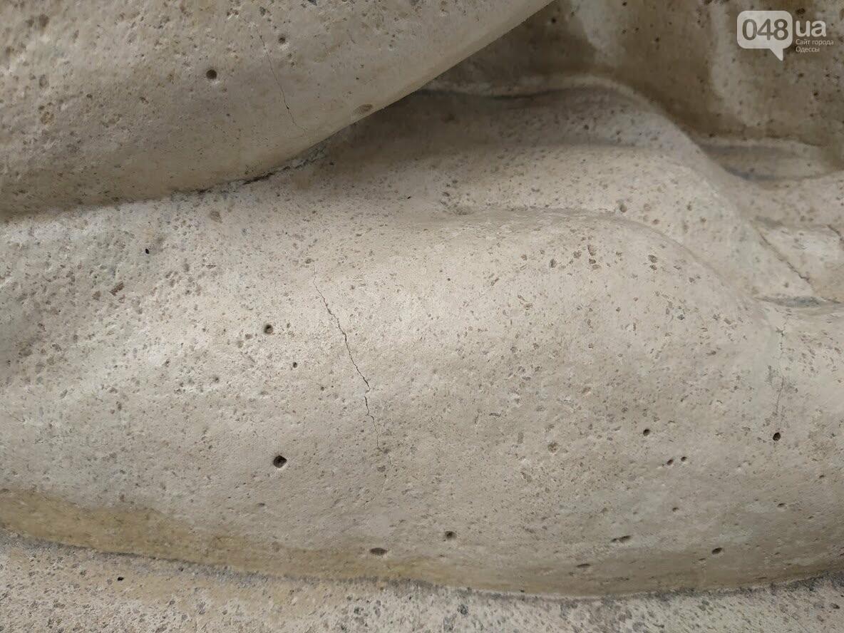 """Реставрация скульптурной группы """"Фонтан и львы"""""""