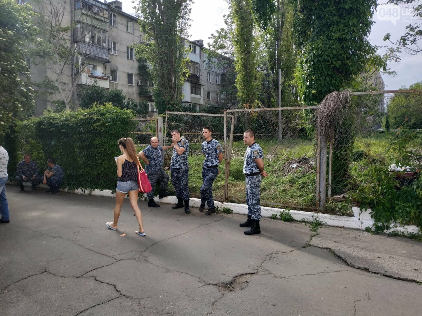 Одесский университет заявил о рейдерском захвате земли: без драки не обошлось, - ФОТО, фото-5, Фото: Александр Жирносенко