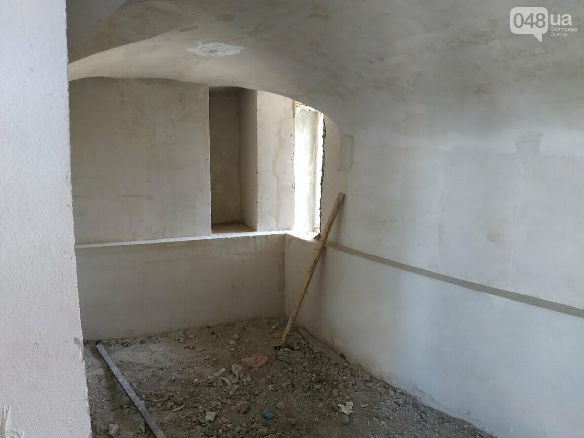 Реставрация Воронцовской колоннады