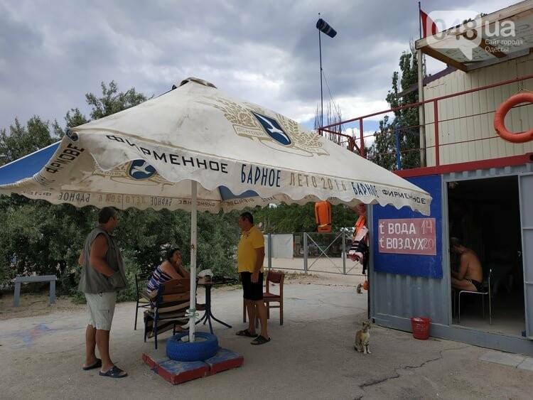Торнадо в Одессе в Лузановке перепугал отдыхающих, - ФОТО, ВИДЕО , фото-8
