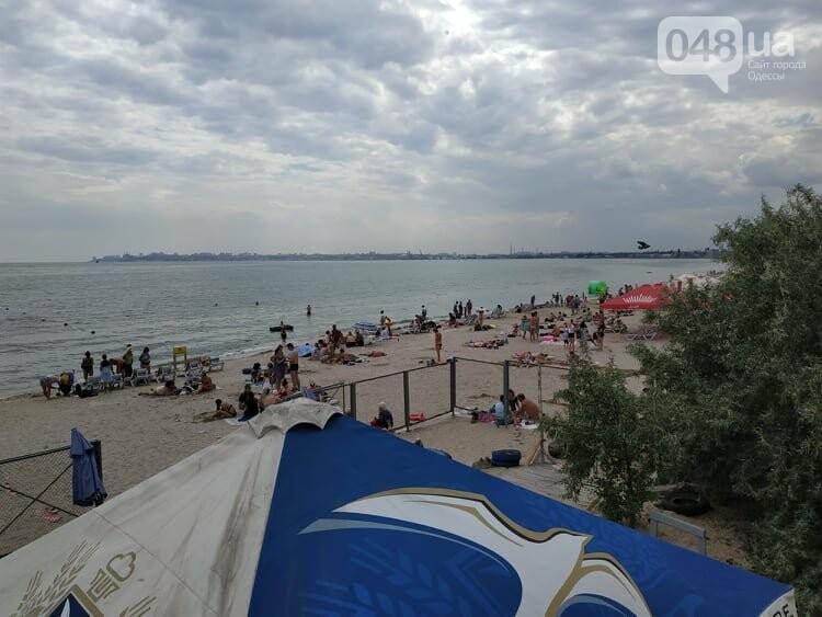 Торнадо в Одессе в Лузановке перепугал отдыхающих, - ФОТО, ВИДЕО , фото-5
