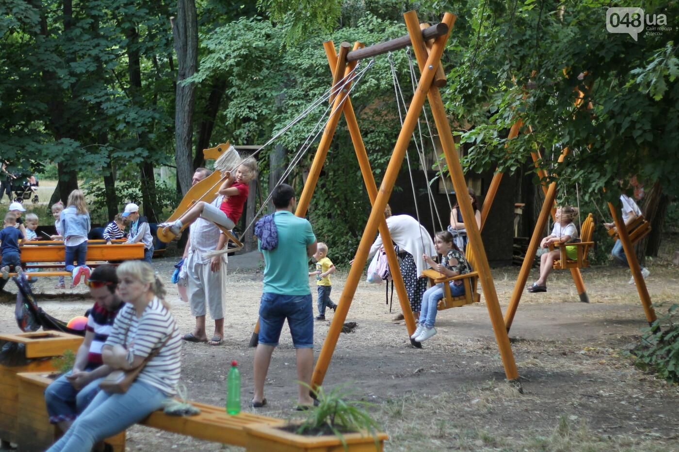 """Инклюзивная детская площадка в сквере """"Молодежный"""""""