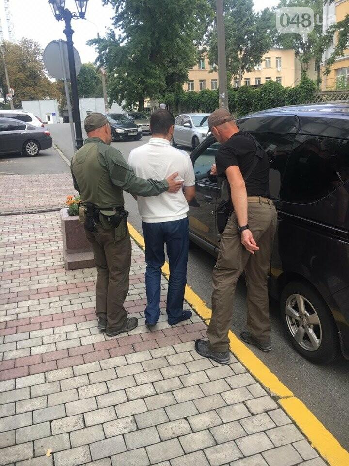 Задержание Константина Гейко