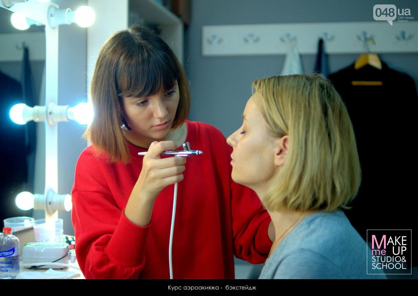Курсы красоты в Одессе: визаж, макияж, маникюр и педикюр, фото-39