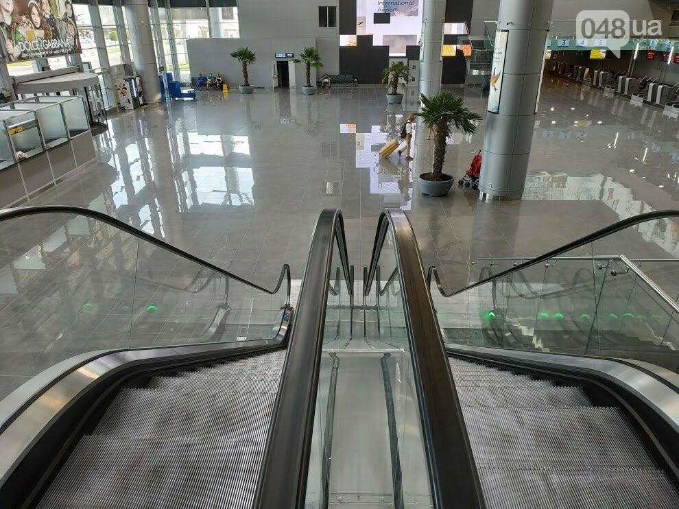 Одесский аэропорт, новый терминал