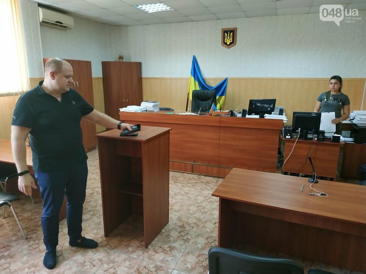 Начальник аппарата Суворовского районного суда Одессы Александр Ищенко