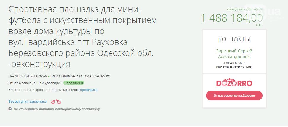 """Чиновники в Одесской области наплевали на закон, """"подарив"""" заказ фирме депутата-оппоблоковца?, фото-2"""