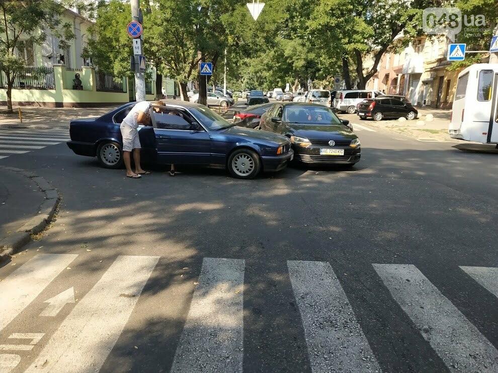 ДТП на перекрестке улиц Осипова и Базарная.