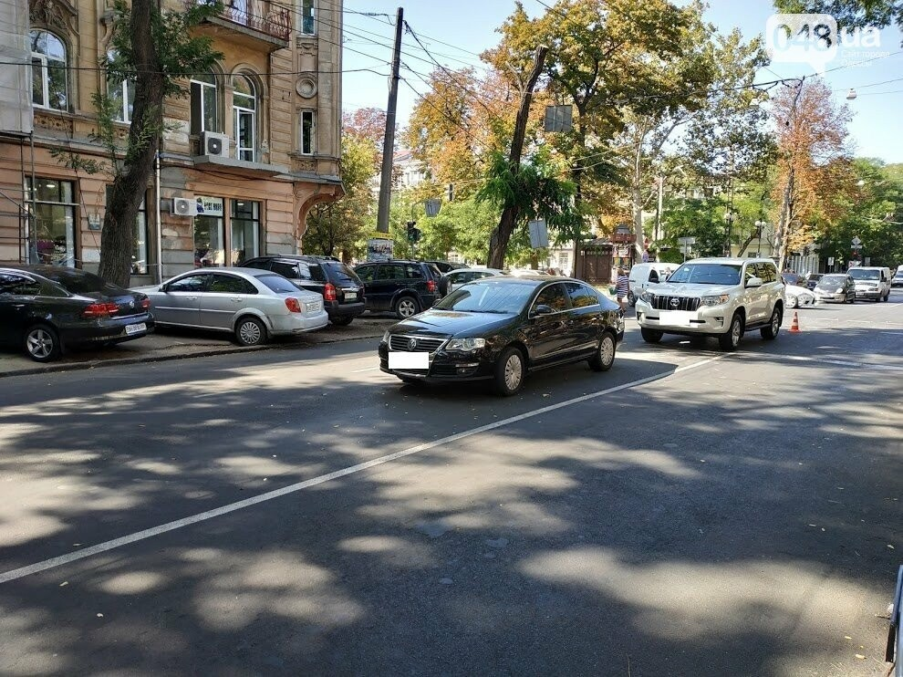 Авария в центре Одессы: водителя увезла скорая, - ФОТО, фото-12