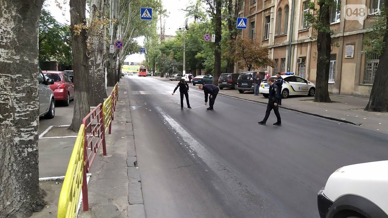 ДТП на улице Мариинской в Одессе