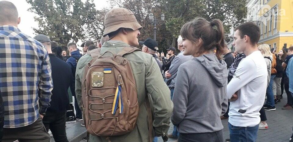 Против подписания «формулы Штайнмайера» протестовали сотни одесситов, - ФОТО, ВИДЕО, фото-7