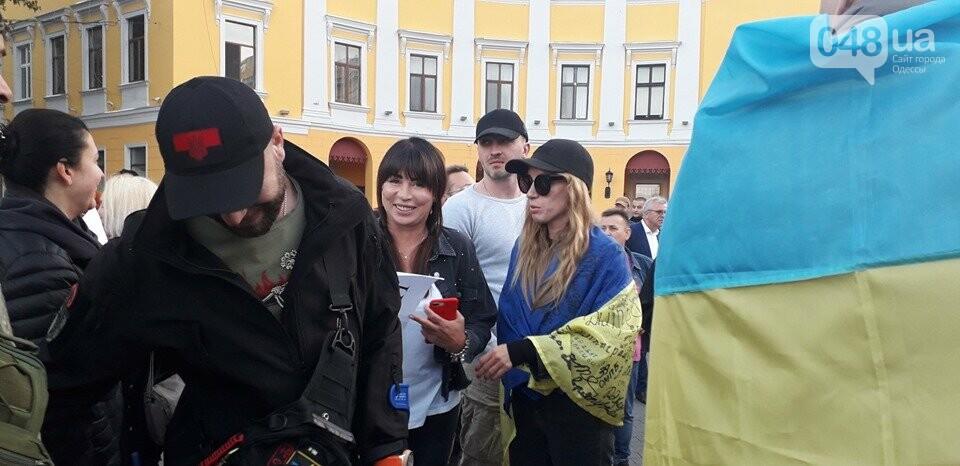 Против подписания «формулы Штайнмайера» протестовали сотни одесситов, - ФОТО, ВИДЕО, фото-8
