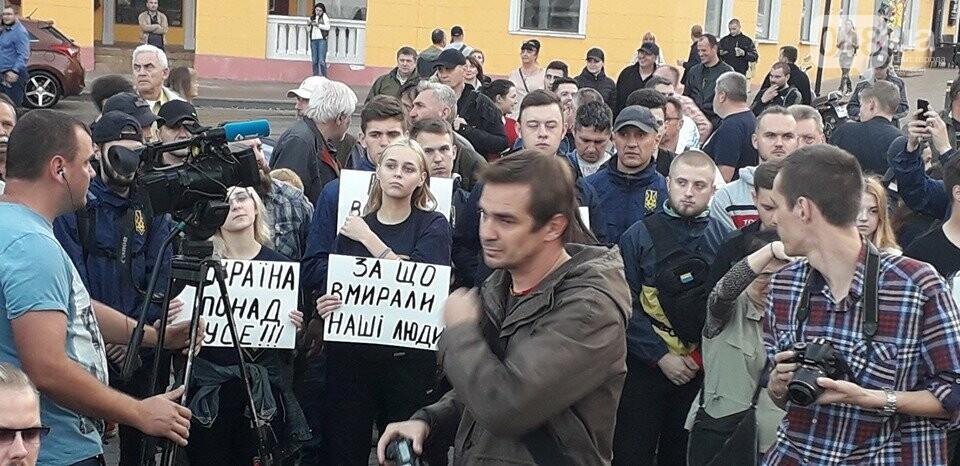Против подписания «формулы Штайнмайера» протестовали сотни одесситов, - ФОТО, ВИДЕО, фото-15