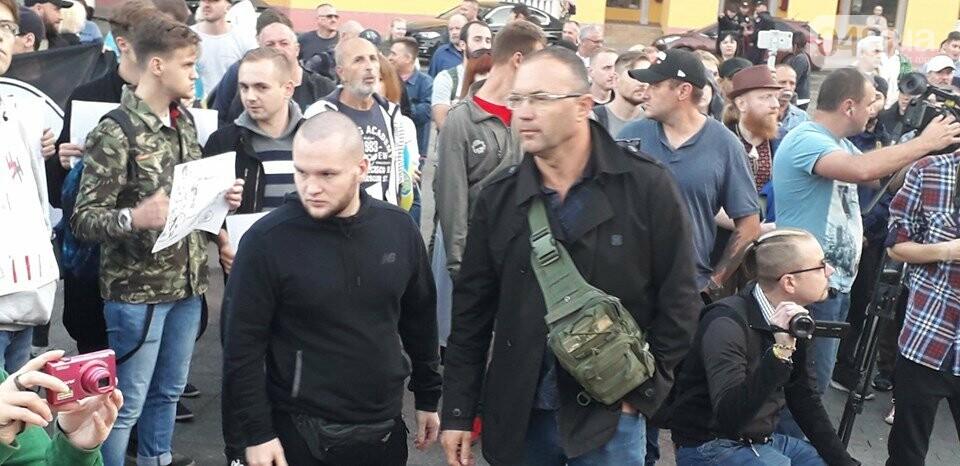 Против подписания «формулы Штайнмайера» протестовали сотни одесситов, - ФОТО, ВИДЕО, фото-27