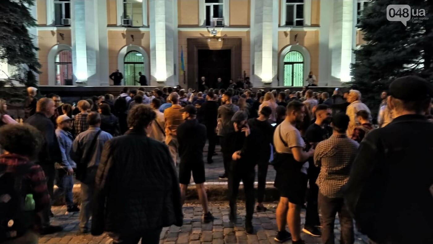 Против подписания «формулы Штайнмайера» протестовали сотни одесситов, - ФОТО, ВИДЕО, фото-29