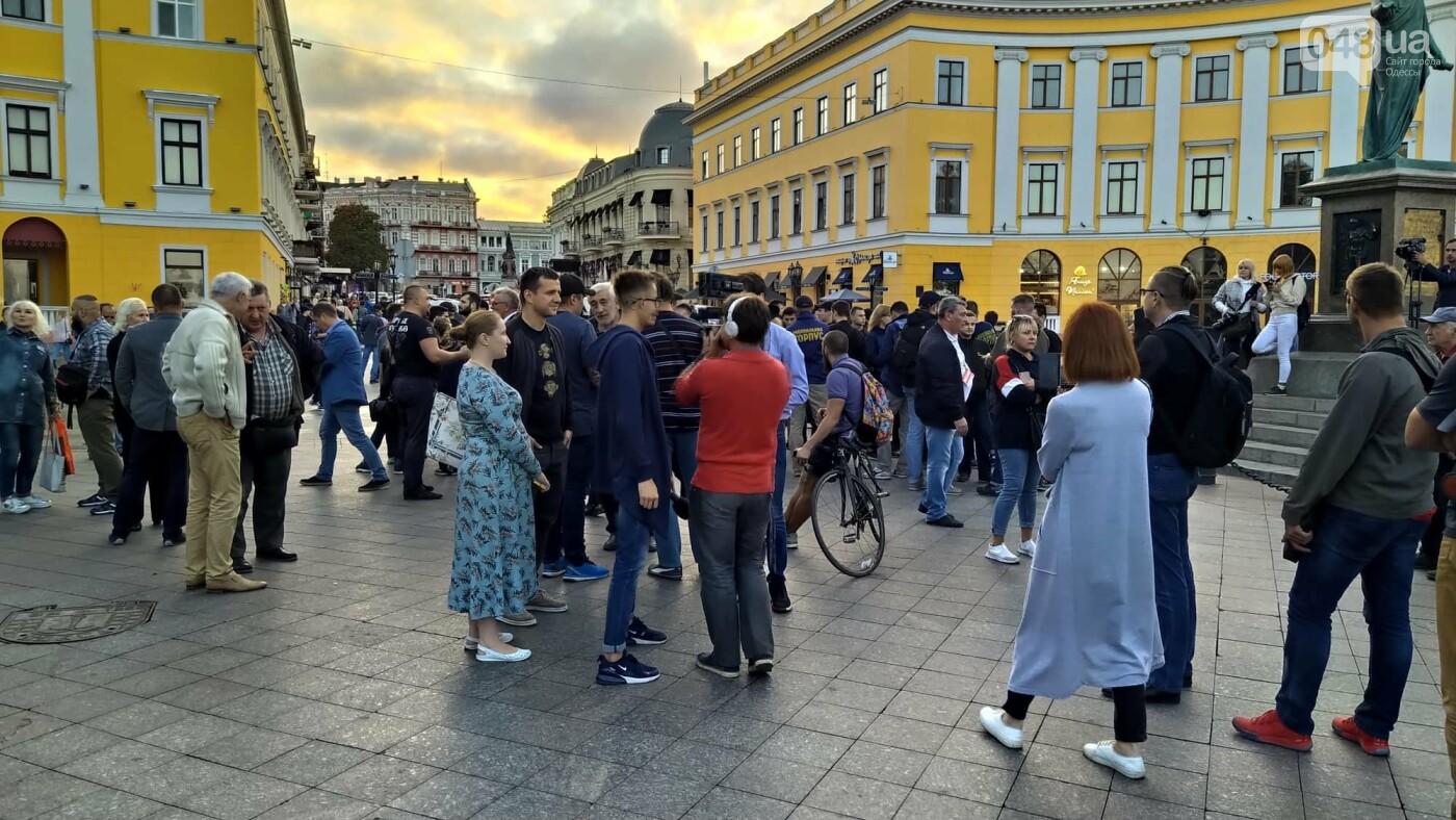 Против подписания «формулы Штайнмайера» протестовали сотни одесситов, - ФОТО, ВИДЕО, фото-2