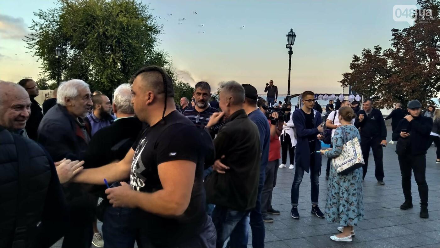 Против подписания «формулы Штайнмайера» протестовали сотни одесситов, - ФОТО, ВИДЕО, фото-33