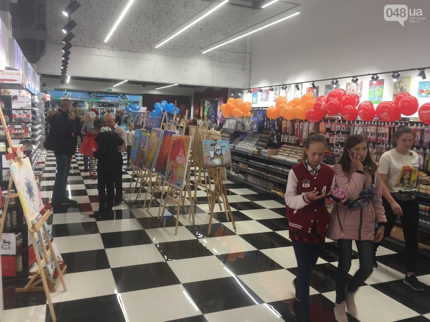 В Одессе состоялось открытие Creative Mall: уникальный формат супермаркета канцтоваров становится ближе , фото-11