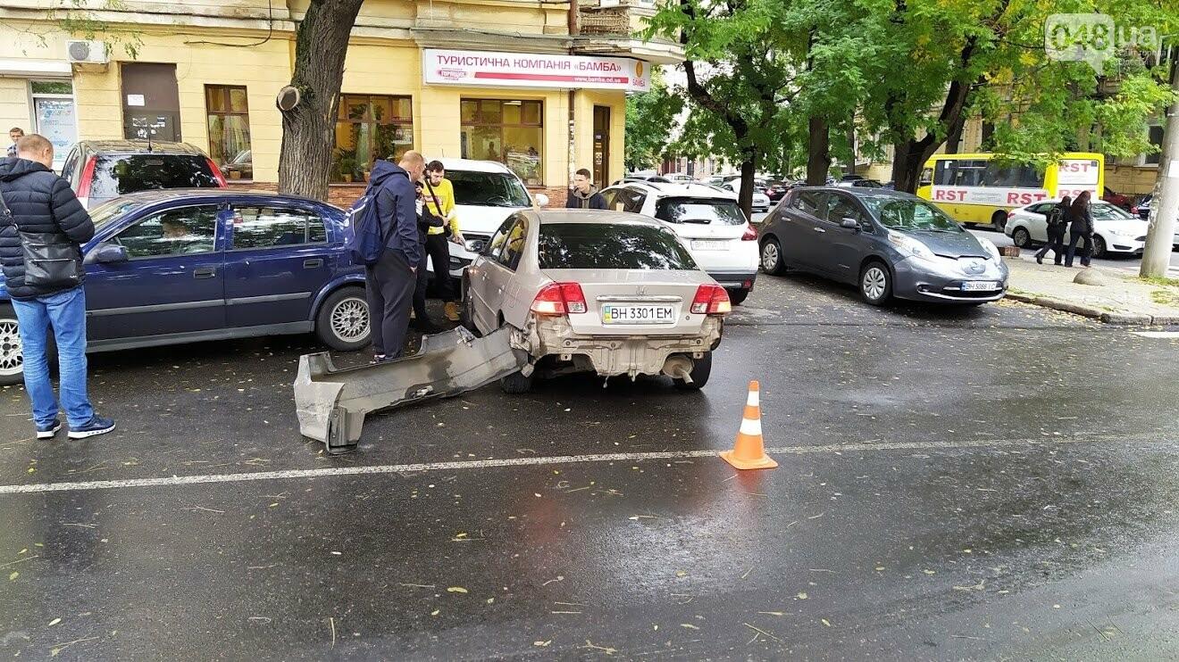 ДТП на Базарной в Одессе