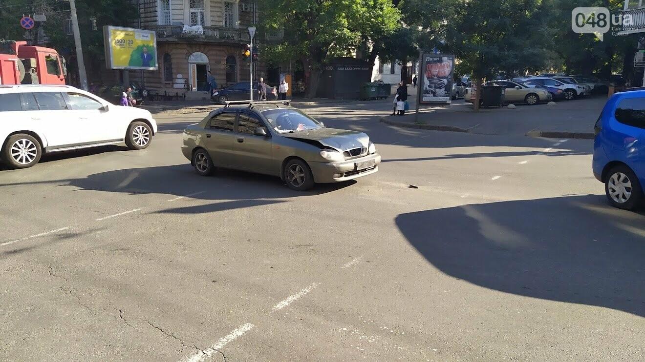 ДТП на улице Успенской в Одессе