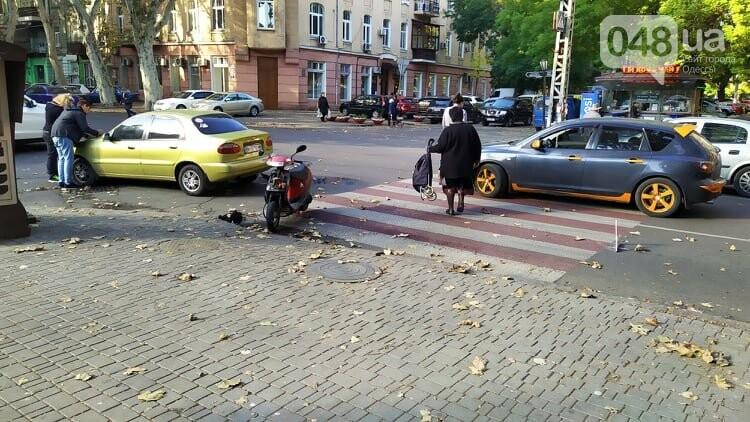 Одесситам на заметку: из-за аварии в центре Одессы образовались пробки, - ФОТО, фото-3