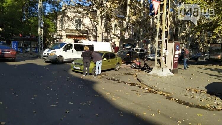 Одесситам на заметку: из-за аварии в центре Одессы образовались пробки, - ФОТО, фото-5