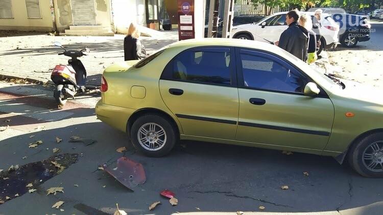 Одесситам на заметку: из-за аварии в центре Одессы образовались пробки, - ФОТО, фото-8