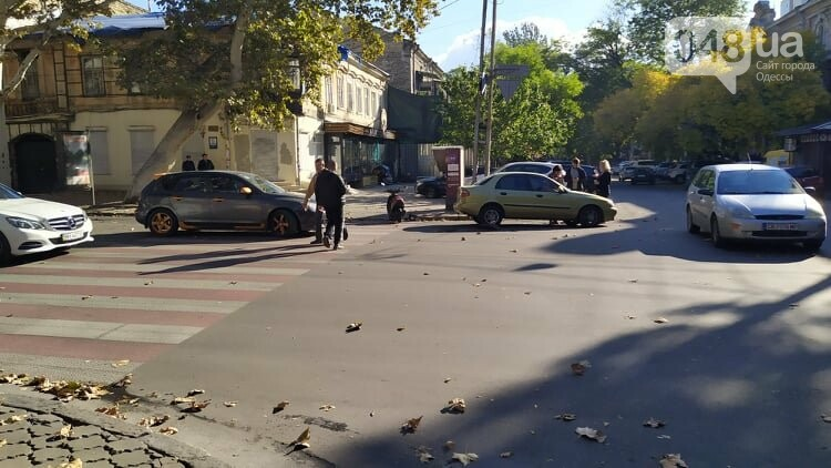 Одесситам на заметку: из-за аварии в центре Одессы образовались пробки, - ФОТО, фото-7