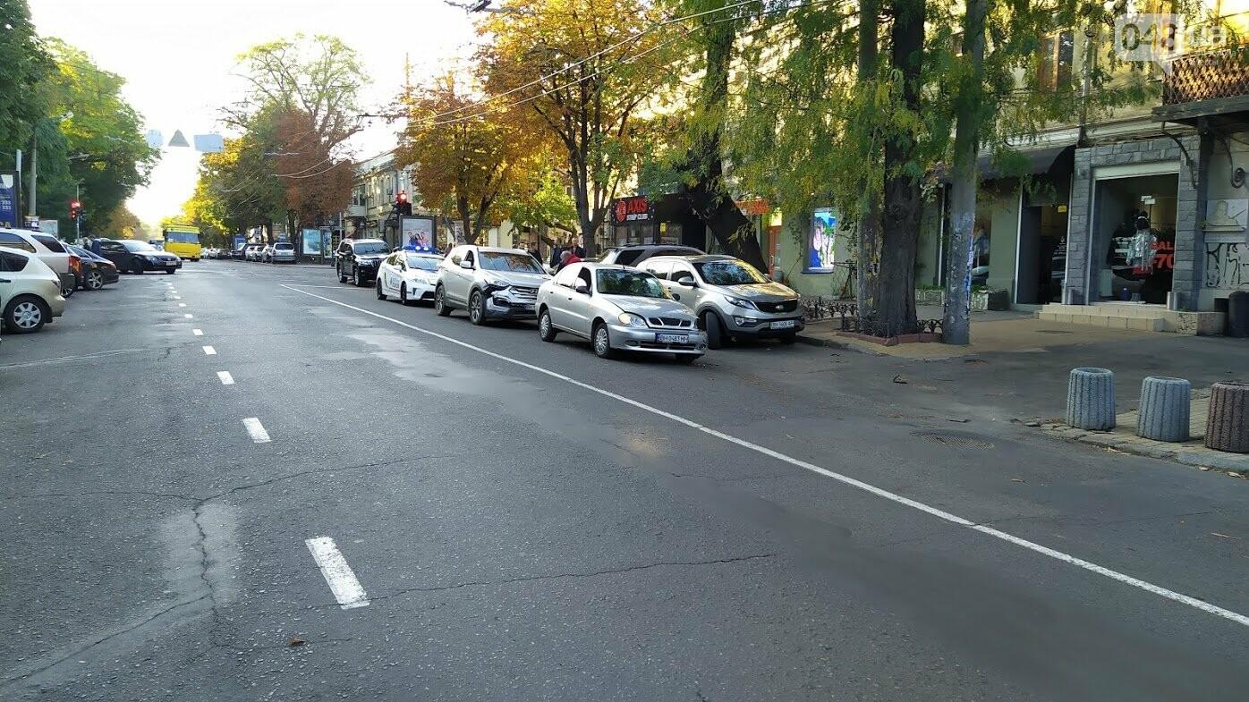 ДТП на улице Екатерининской в Одессе