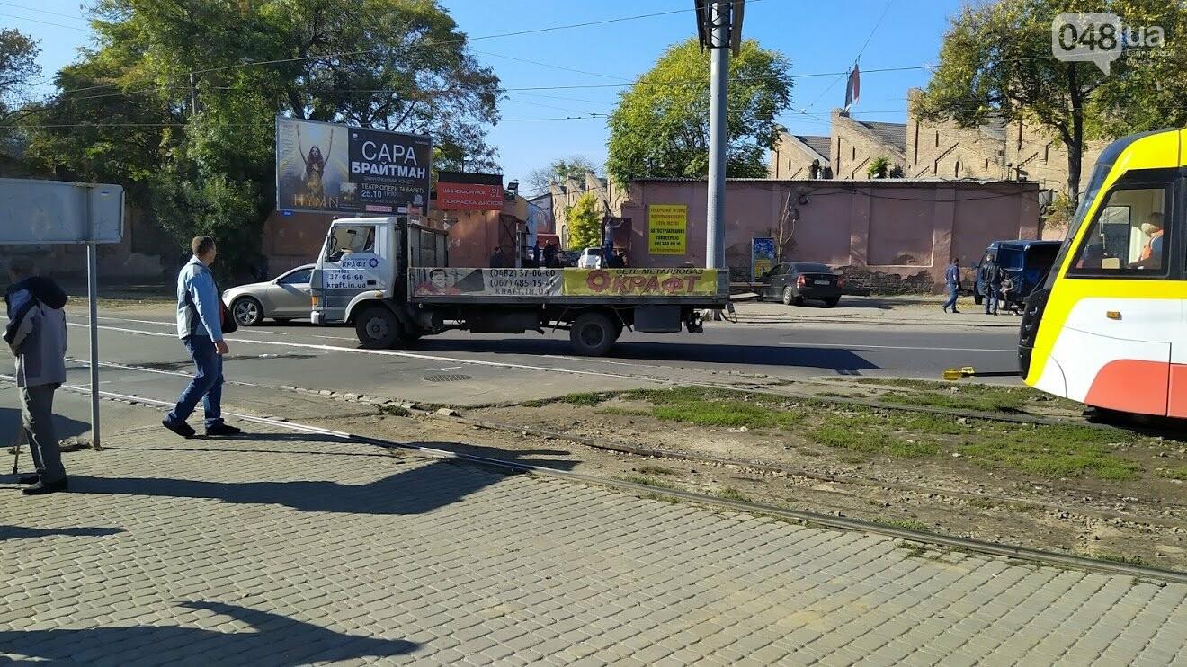 ДТП на Водопроводной в Одессе