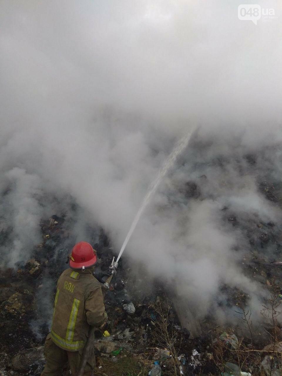 Под Одессой горела мусорная свалка, - ФОТО, фото-2