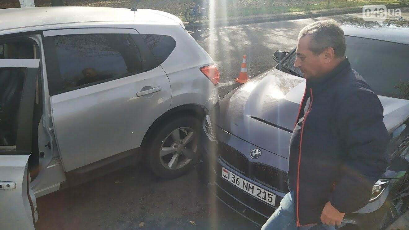 Дорожное происшествие в Одессе, улица Ицхака Рабина