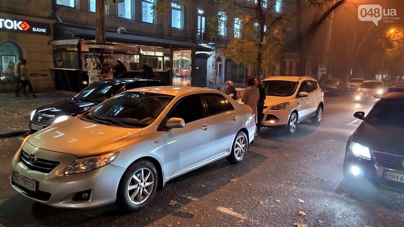 ДТП в Одессе на улице Успенской
